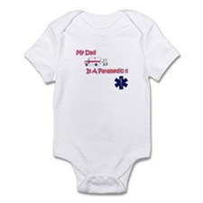 My Dad Is A Paramedic Infant Bodysuit