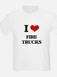 fire trucks T-Shirt