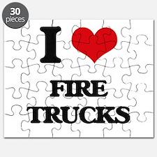 fire trucks Puzzle