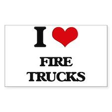 fire trucks Decal