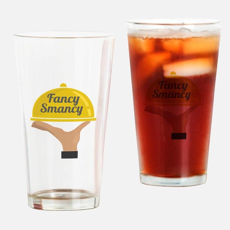 Fancy Smancy Drinking Glass