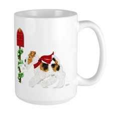 Christmas Wire Mail Ceramic Mugs