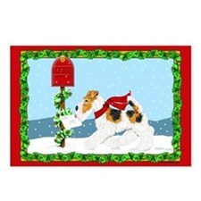 Christmas Wire Mail Postcards (8)