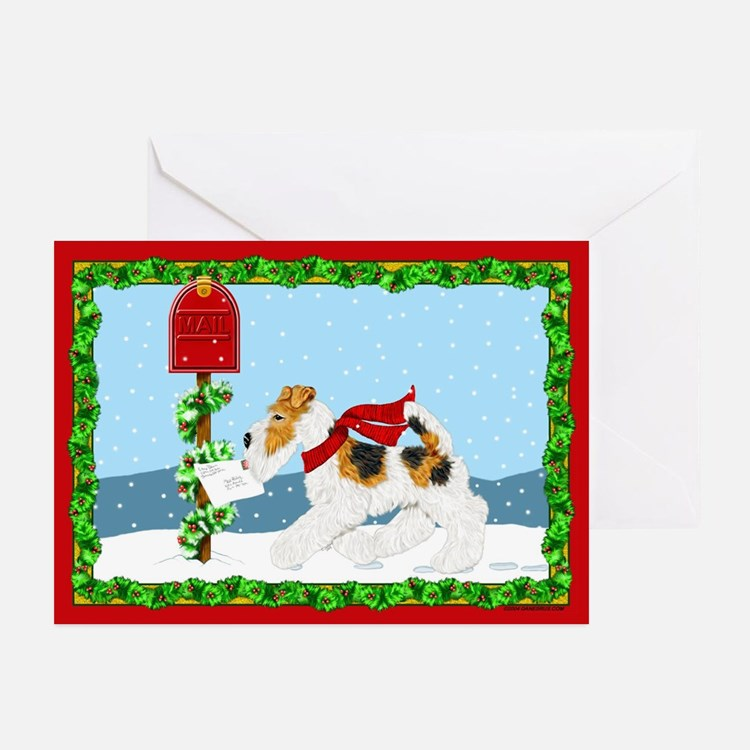 Christmas Wire Mail Greeting Cards (6)
