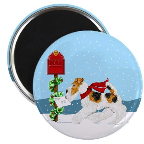Christmas Wire Mail Magnet