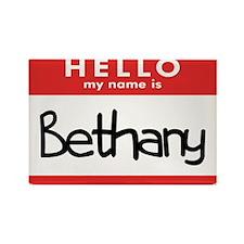 Hello Bethany Rectangle Magnet