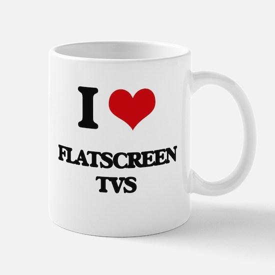 flatscreen tvs Mugs