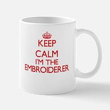 Keep calm I'm the Embroiderer Mugs