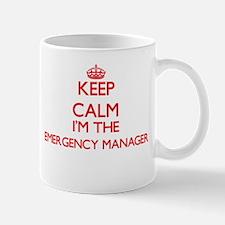 Keep calm I'm the Emergency Manager Mugs