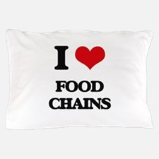 food chains Pillow Case