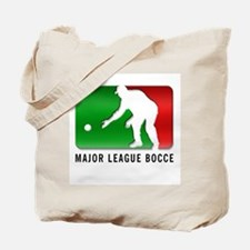 Major League Bocce (light shi Tote Bag