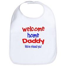 Funny Military homecoming Bib