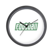 OPEN FOOTBALL Wall Clock