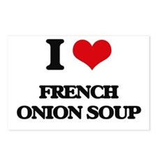 french onion soup Postcards (Package of 8)