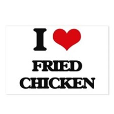 fried chicken Postcards (Package of 8)