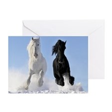 Beautiful Horses Greeting Cards