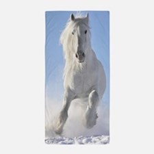 Beautiful Horses Beach Towel