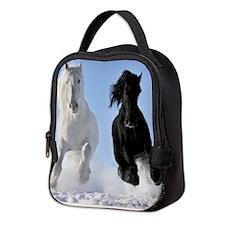 Beautiful Horses Neoprene Lunch Bag