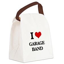 garage band Canvas Lunch Bag