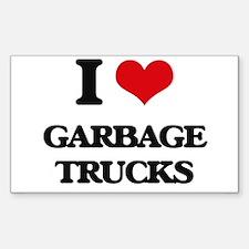 garbage trucks Decal