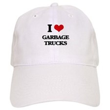 garbage trucks Baseball Cap