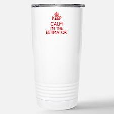 Keep calm I'm the Estim Travel Mug
