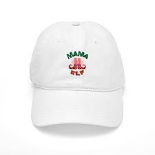Mama Elf Baseball Baseball Cap