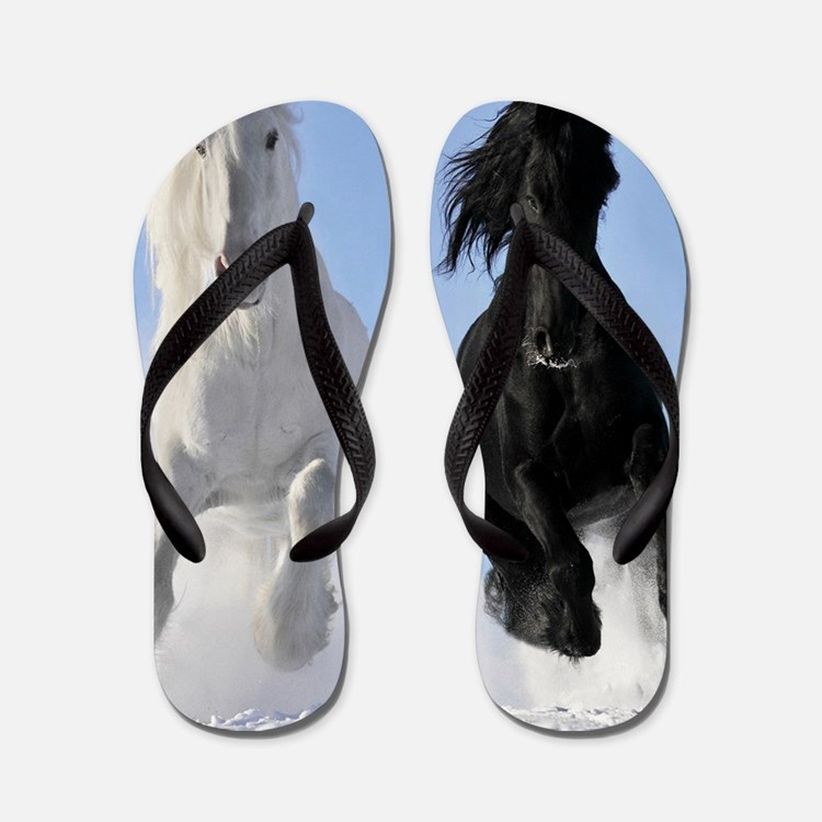 Beautiful Horses Flip Flops