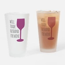 Husband For Wine Drinking Glass