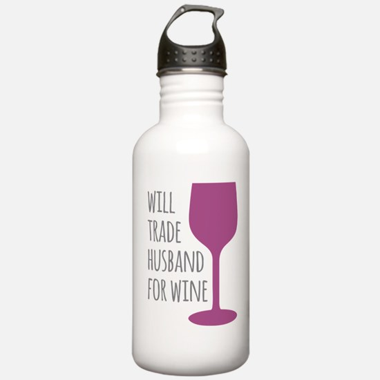 Husband For Wine Water Bottle