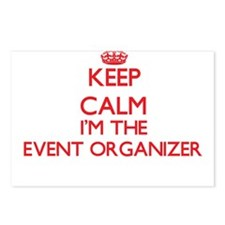 Keep calm I'm the Event O Postcards (Package of 8)
