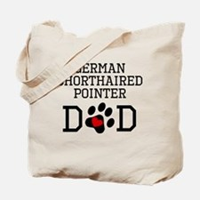 German Shorthaired Pointer Dad Tote Bag