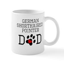 German Shorthaired Pointer Dad Mugs