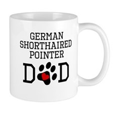 German Shorthaired Pointer Dad Mugs