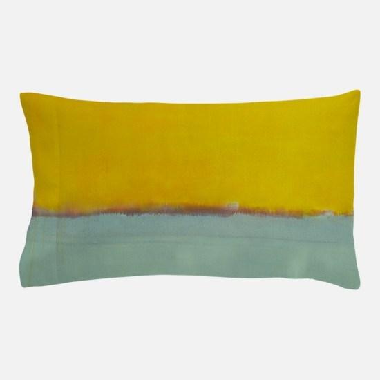 ROTHKO BLUE YELLOW Pillow Case