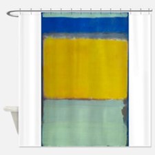 ROTHKO BLUE YELLOW Shower Curtain