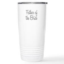 Cute Father of the bride Travel Mug