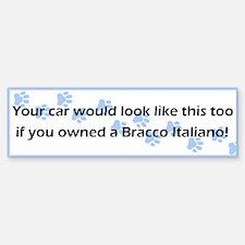 Your Car Bracco Italiano Bumper Bumper Bumper Sticker