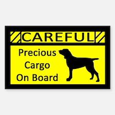 Precious Cargo Bracco Italiano Sticker (Rect)