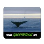 Mousepad with whale