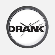 Drank Wall Clock