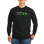 Irish Beer Drinker Long Sleeve Dark T-Shirt