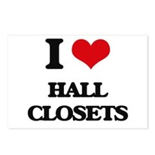 hall closets Postcards (Package of 8)