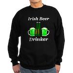 Irish Beer Drinker Sweatshirt (dark)