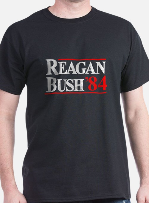 Reagan Bush '84 T-Shirt