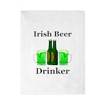 Irish Beer Drinker Twin Duvet
