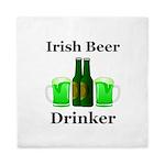 Irish Beer Drinker Queen Duvet