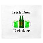 Irish Beer Drinker King Duvet