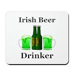 Irish Beer Drinker Mousepad