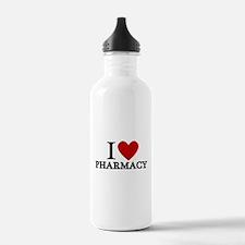 I Love Pharmacy Water Bottle